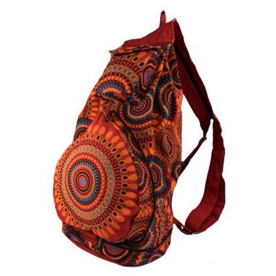 Batoh Mandala Red