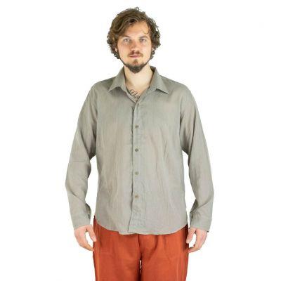 Pánska košeľa s dlhým rukávom Tombol Grey | M, L, XL