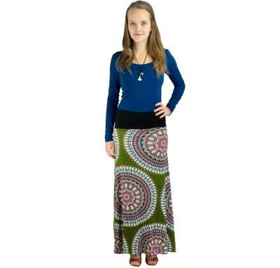 Dlhá sukňa Panjang Fabienne | UNI
