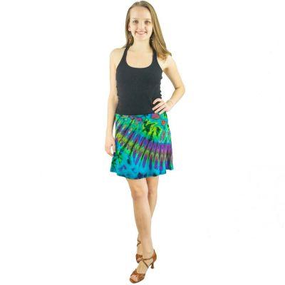Batikovaná mini sukne Gamon Pemuda | UNI (zodpovedá S / M)