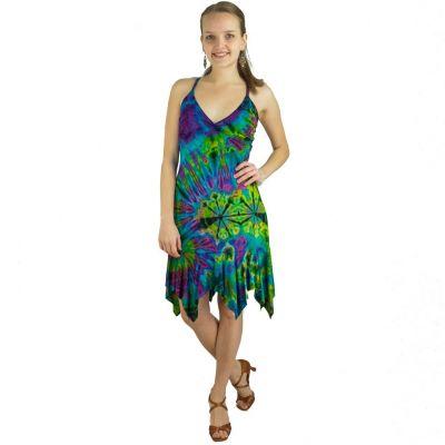 Batikované šaty Pate Pemuda | UNI (zodpovedá S / M)