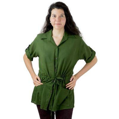 Dámska košeľa Sumalee Green   UNI