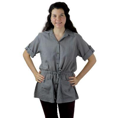 Dámska košeľa Sumalee Grey   UNI