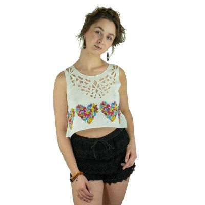 Mini tielko Lamai Butterfly Heart   UNI (zodpovedá S / M)