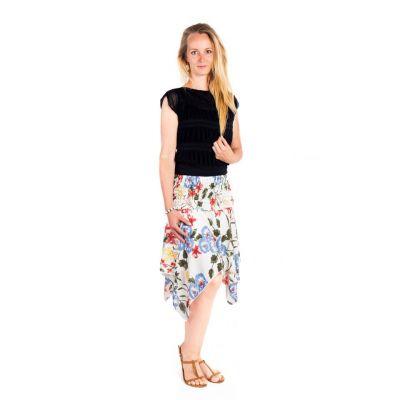 Cípatá sukňa s elastickým pásom Malai Firdaus | UNI