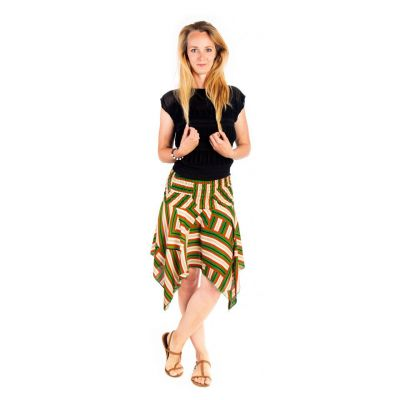Cípatá sukňa s elastickým pásom Malai Setrip   UNI