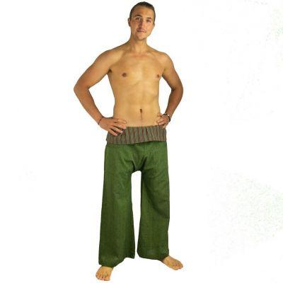 Nohavice Fisherman's Trousers - zelené