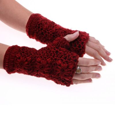 Návleky na ruky Bardia Crimson