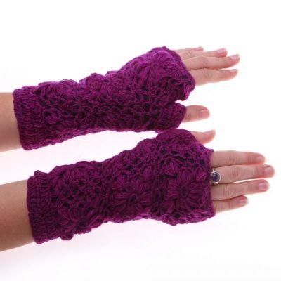 Návleky na ruky Bardia Purple