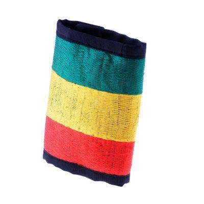 Vyšívaná peňaženka Rastafari