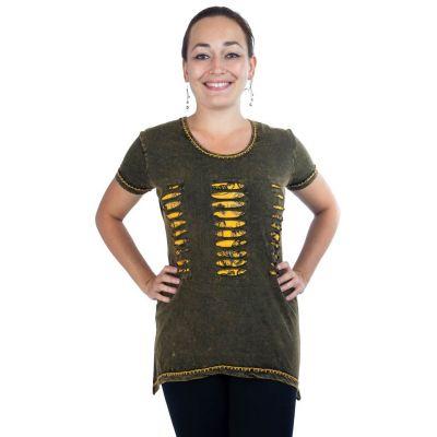 Dámske tričko s krátkym rukávom Ehani Kuning | S, M, L