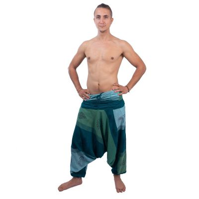 Háremové nohavice Telur Hijau | UNI