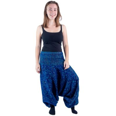 Akrylové nohavice typu Alibaba Jagrati Indigo   UNI