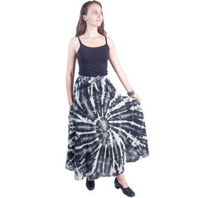 Dlhá batikovaná etno sukne Sejun Austere | UNI