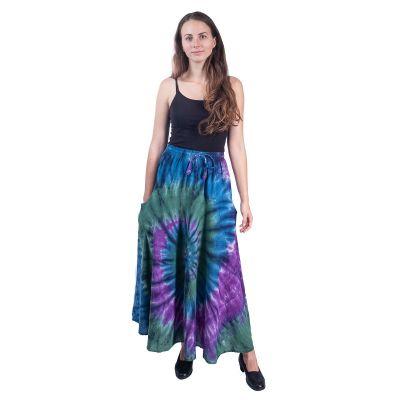Dlhá batikovaná etno sukne Sejun Winsome | UNI