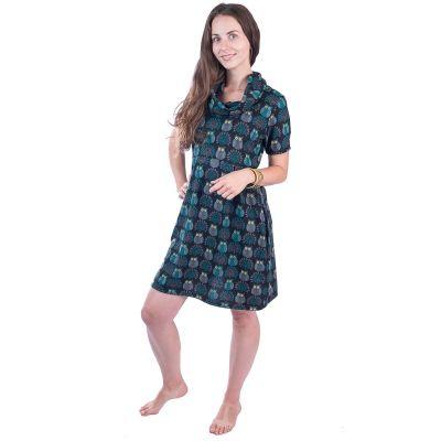 Jarné / jesenné šaty Burung Hant   UNI (zodpovedá S / M)
