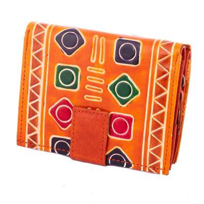 Peňaženka Faria - oranžová