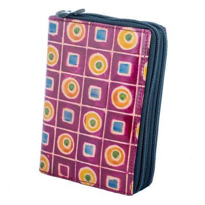 Peňaženka Samira - fialová