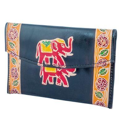 Peňaženka Slon 3v1 - čierna
