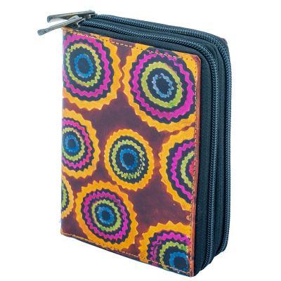 Peňaženka Yauvani - vínová