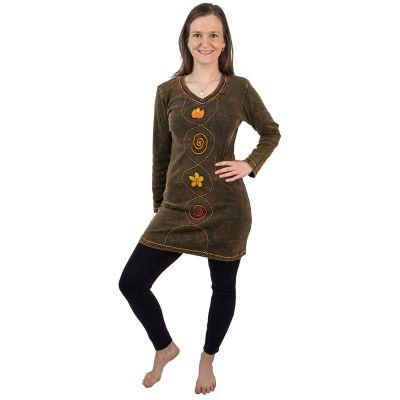 Šaty Nikmat Oranye | S, M, L, XL