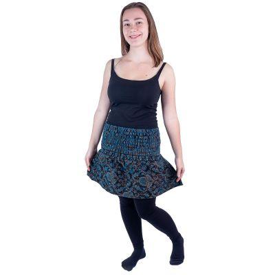 Akrylová zvonová mini sukne Hanima Lapis   UNI (zodpovedá S / M)