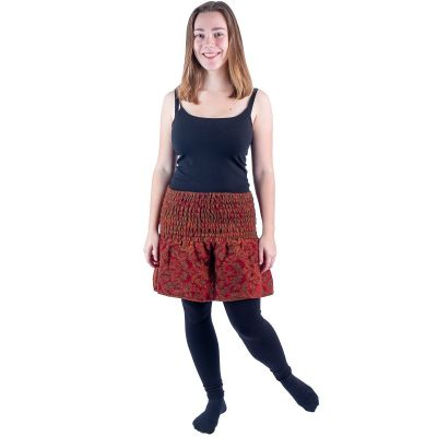 Akrylová zvonová mini sukne Hanima Temper   UNI (zodpovedá S / M)