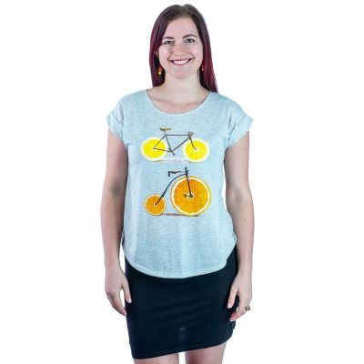 Dámske tričko s krátkym rukávom Darika Citrus Bikes | UNI
