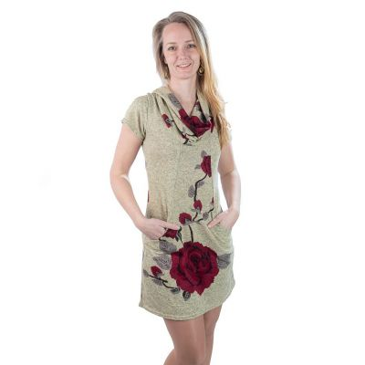 Jarné / jesenné šaty Raozy Mena   UNI (zodpovedá S / M)