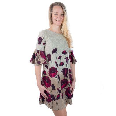 Jarné / jesenné šaty Ungu MADAT Alang   UNI (zodpovedá S / M)