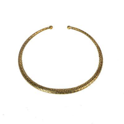 Mosadzný náhrdelník Eleonora