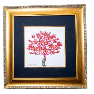 Obraz Ružový strom