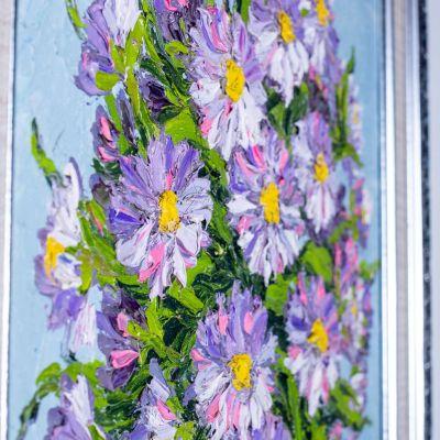 Obraz Váza fialových kvetov