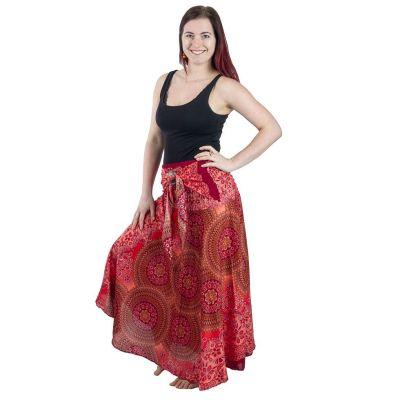 Dlhá sukňa s kokosovou sponou Kelapa Darah   UNI