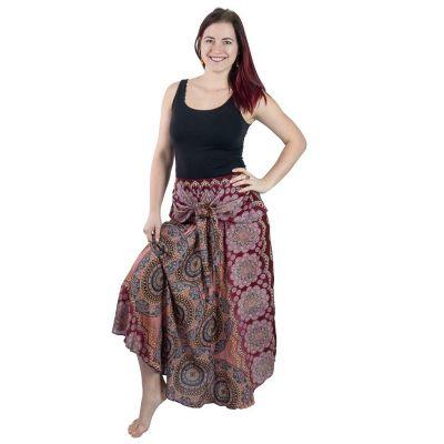 Dlhá sukňa s kokosovou sponou Kelapa Gula-gula | UNI