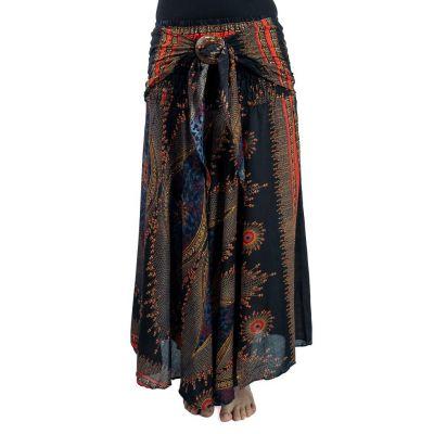 Dlhá sukňa s kokosovou sponou Kelapa Isis | UNI
