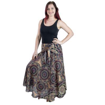 Dlhá sukňa s kokosovou sponou Kelapa Mongkut | UNI