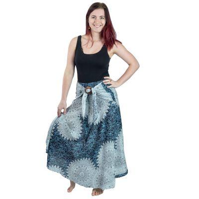 Dlhá sukňa s kokosovou sponou Kelapa Reina | UNI