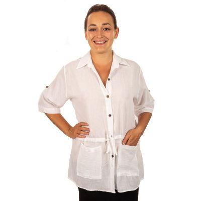 Dámska košeľa Sumalee White   UNI