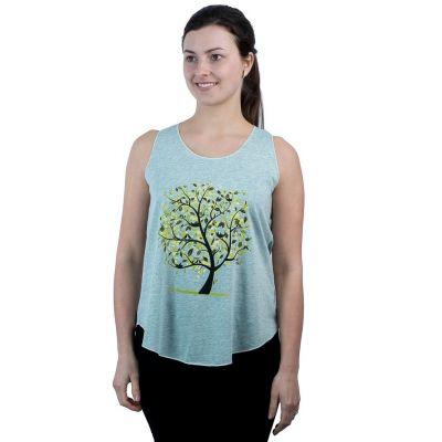 Dámske tielko Darika Meadow Tree Greenish | UNI (zodpovedá S / M)