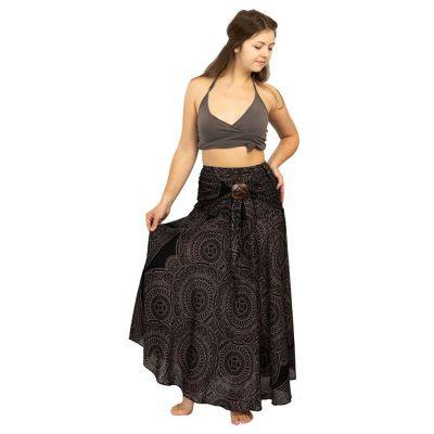 Dlhá sukňa s kokosovou sponou Kelapa Amara | UNI