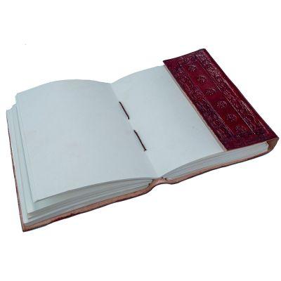 Kožený zápisník Buddha India