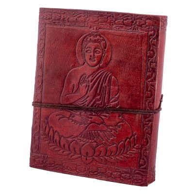 Kožený zápisník Buddha | mini, malý, stredná, veľký