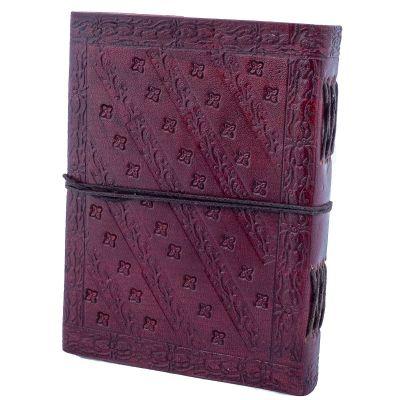 Kožený zápisník Draci India