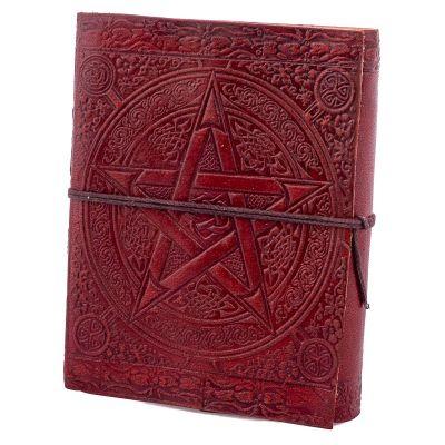 Kožený zápisník Pentagram | mini, malý, veľký