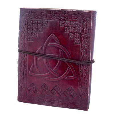 Kožený zápisník Trikvetra | malý, veľký