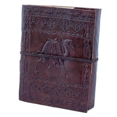 Kožený zápisník Ťava | mini, malý, POSLEDNÝ KUS!, veľký