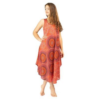 Plážové šaty Yami Darah - bez rukávov   UNI (S - L), XL - XXL, XXXL