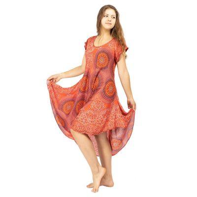 Plážové šaty Yami Darah - s krátkym rukávom   UNI (S - L), XL - XXL