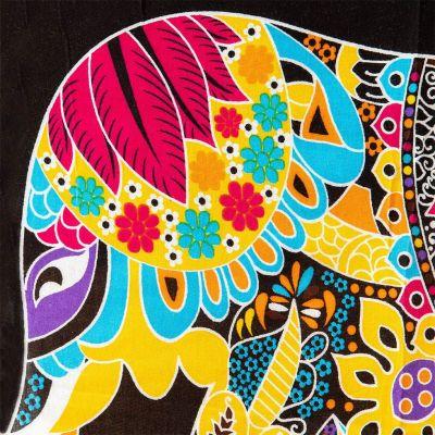 Sarong / pareo Slon žltý Thailand